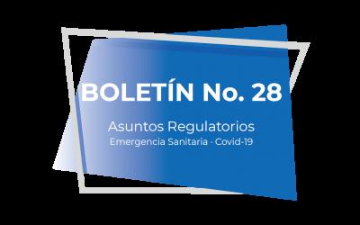 Boletín No. 28 (01-21)