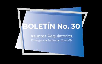 Boletín No. 30 (03-21)