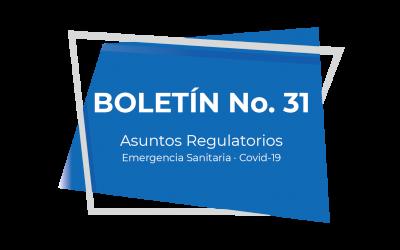 Boletín No. 31 (04-21)