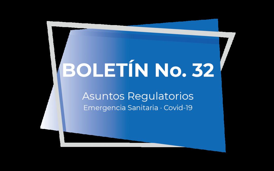 Boletín No. 32 (05-21)
